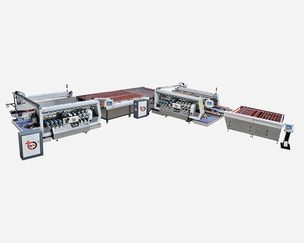 THSZM-GSA Series Intelligent High-speed Double-edger Line (20/22/24 grinding head)