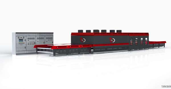 Horizontal Top Convection Flat Glass Tempering Furnace