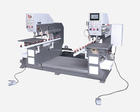Full-automatic Horizontal Double-drilling Machine - SSz080